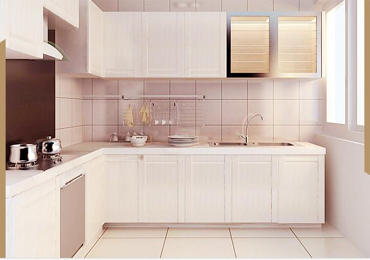 Accepted Custom Furniture Melamine Kitchen Cabinet